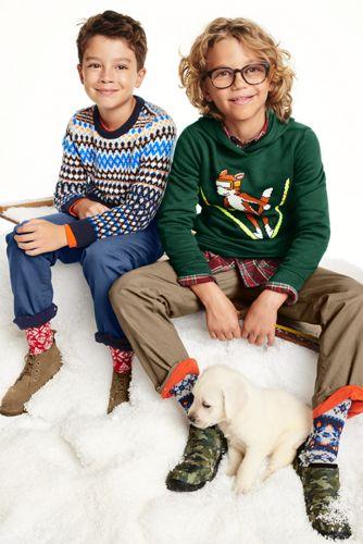 Little Boys Graphic Pullover Hoodie Sweatshirt