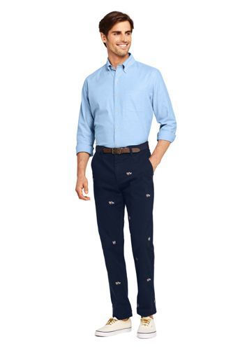 Men's Comfort-First Traditional Fit Knockabout Chino Pants Embroidered