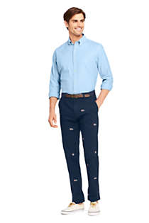 Men's Comfort-First Traditional Fit Knockabout Chino Pants Embroidered, Unknown