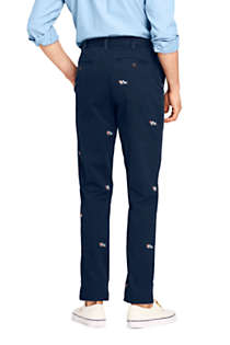 Men's Comfort-First Traditional Fit Knockabout Chino Pants Embroidered, Back
