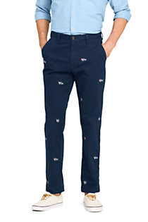 Men's Comfort-First Traditional Fit Knockabout Chino Pants Embroidered, Front