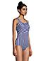 Komfort-Badeanzug CHLORRESISTENT mit Soft Cups und Colorblock-Streifen