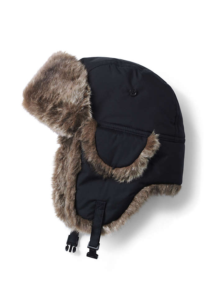 Women's Faux Fur Expedition Winter Trapper Hat, Front