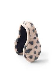 Women's Adjustable Fleece Winter Earmuffs - Print