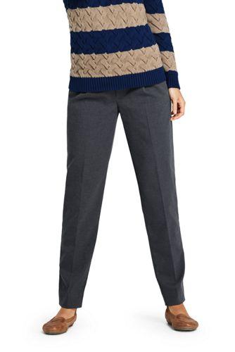 Jogpant en Flanelle Stretch, Femme Stature Standard