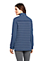 Sweatshirt Long 1/2 Zip à Rayures Mixtes, Femme Stature Standard