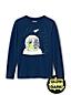 T-Shirt Phosphorescent à Manches Longues, Tout Petit Garçon