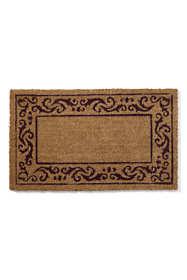 Coir Rolling Scrolls Doormat