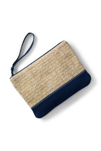 Women's Straw Clutch Bag