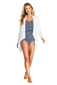 Women's UPF 50 Sun Protection Waterfall Cardigan Swim Cover-up