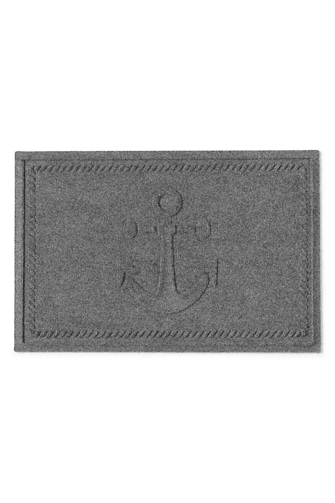 Waterblock Doormat Ship's Anchor, Front