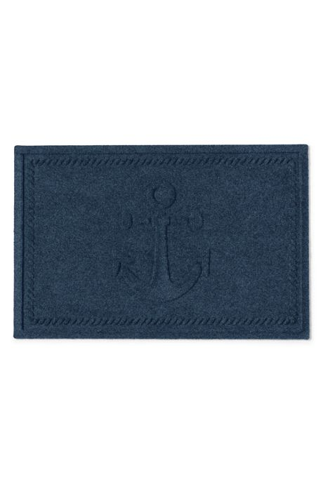Bungalow Flooring Waterblock Doormat Ship's Anchor
