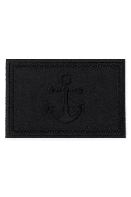 Waterblock Doormat Ship's Anchor
