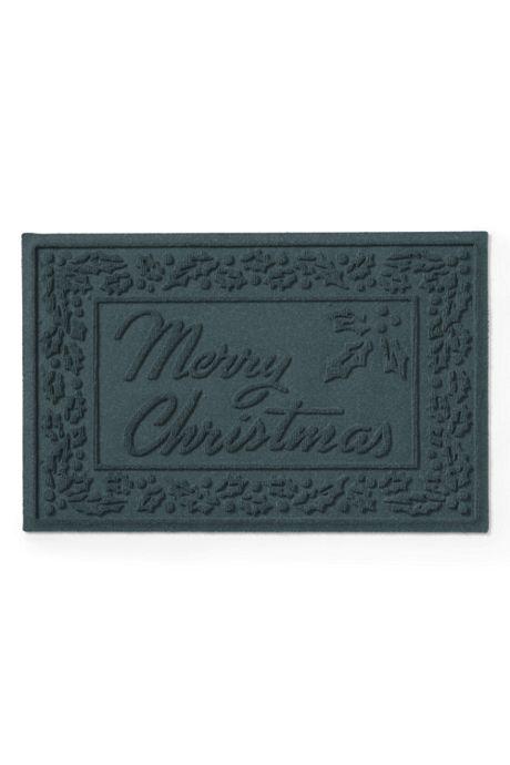 Bungalow Flooring Waterblock Doormat Merry Christmas