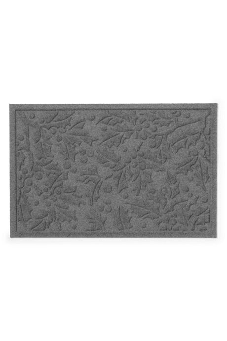 Waterblock Doormat Holly Leaf