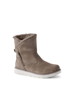 high quality great varieties reasonably priced Women's Sherpa Fleece Lined Suede Boots | Lands' End