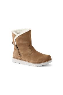 Women's Sherpa Fleece Lined Suede Boots