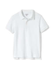 Little Kids Short Sleeve Tailored Fit Interlock Polo