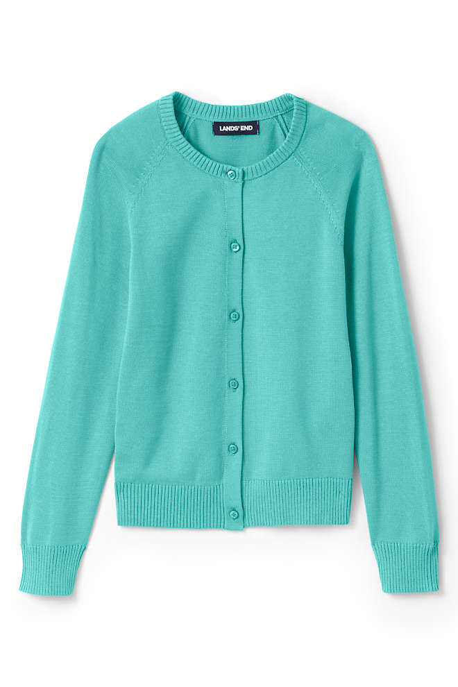 Girls Cardigan Sweater, Front
