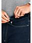 Jean Stretch Doublé de Flanelle Coupe Confort Ourlets Sur-Mesure, Homme Stature Standard