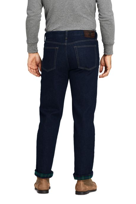 Men's Comfort Waist Flannel Lined Comfort-First Jeans