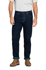 Men's Traditional Fit Flannel Lined Comfort-First Jeans