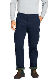 Men's Traditional Fit Fleece Lined Comfort-First Cargo Pants