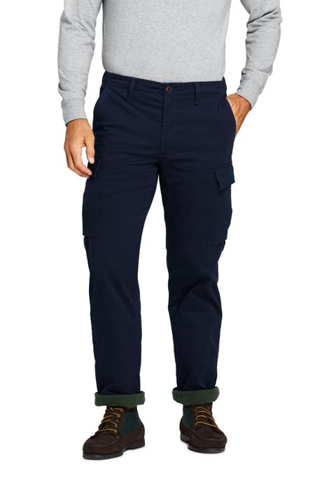 Men's Traditional Fit Fleece Lined Comfort-First Cargo Pants