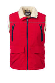 Men's Sherpa Lined Squall Vest
