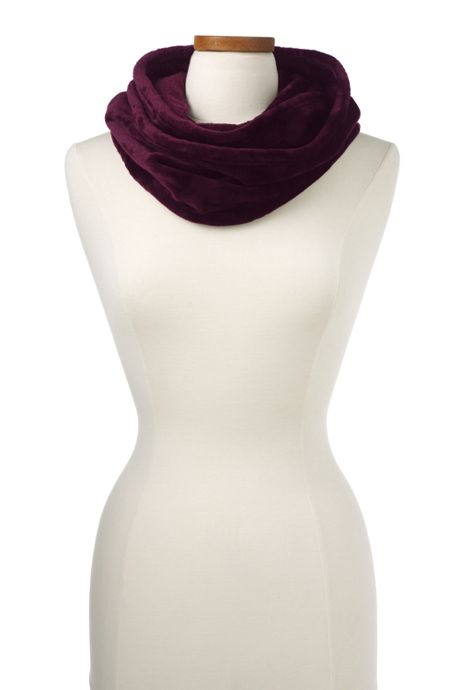 Women's Softest Fleece Infinity Scarf