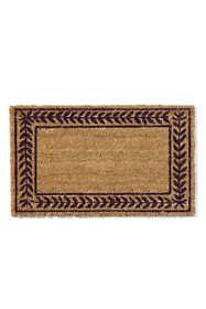 Coir Leafy Vines Doormat