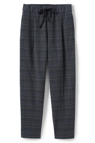 Women's Check Flannel Joggers