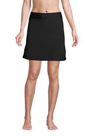 Women's Quick Dry Elastic Waist Active Board Skort Swim Skirt
