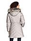 Manteau Matelassé Doublé de Polaire Peluchée, Femme Grande Taille
