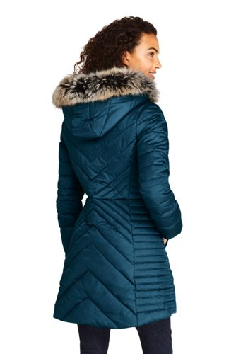 Women's Insulated Plush Lined Winter Coat