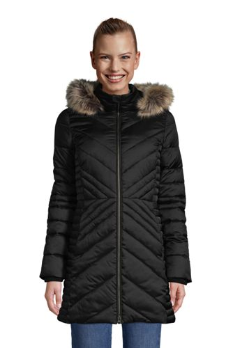 Warmer Wintermantel THERMOPLUME mit Fleece für Damen in Plus-Größe