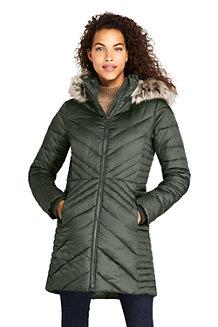 Warmer Wintermantel THERMOPLUME mit Fleece für Damen