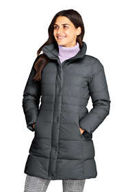 Women's Petite Stretch Long Down Coat