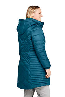 Women's Petite Insulated Plush Lined Winter Coat, alternative image