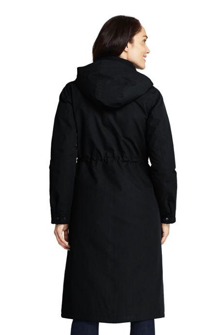Women's Petite Commuter Insulated Long Coat