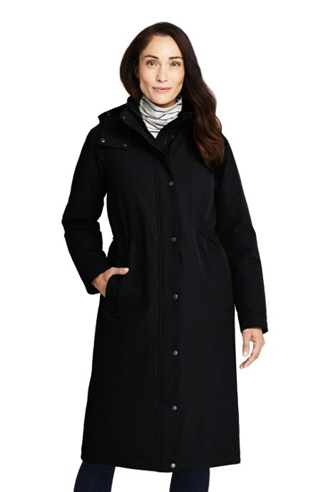 Women's Petite Commuter Insulated Long Coat