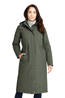 Manteau Long Commuter Thermoplume, Femme