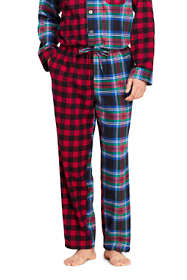 Men's Colorblock Flannel Pajama Pants