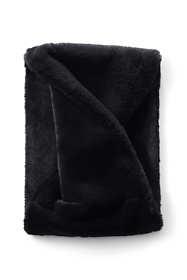 Women's Faux Fur Short Winter Infinity Scarf