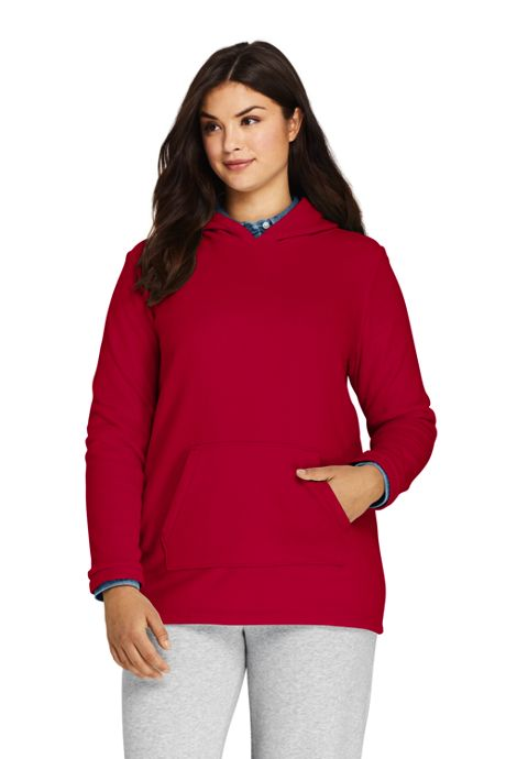 Women's Plus Size Fleece Hoodie