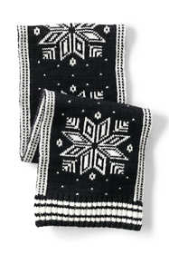 Women's Knit Fairisle Winter Scarf
