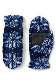 Women's Softest Fleece Mittens - Print