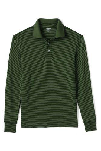 Men's Striped Stretch Supima Polo Shirt