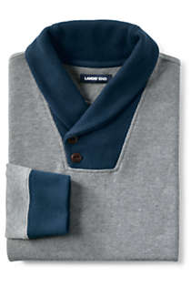 Men's Bedford Rib Shawl Collar Sweater, alternative image