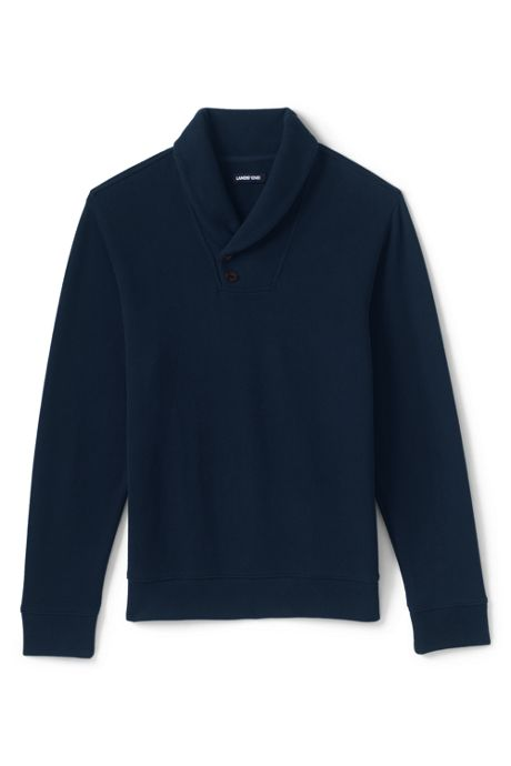 Men's Bedford Rib Shawl Collar Sweater